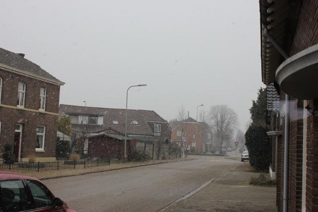 """""""Siberische"""" maart in Limburg met harde wind en sneeuwval zorgt voor afgelasting"""