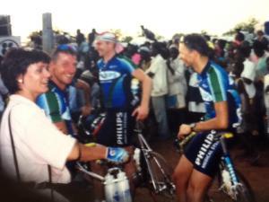Burkina Faso 1999 rechts op de foto Ger Hermans