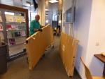 logistieke onderneming: bezorging stemhokjes en stembussen op 51 !! locaties.