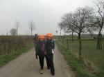 Maartje en oma Astrid, wederom de 40 km-loop