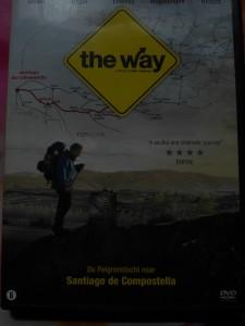"""film """"the Way"""" over de camino naar Santiago de Compostella."""