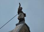 Jacobskerk met beeld te Maaseik
