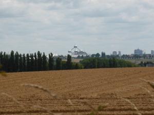 ten noorden van Brussel met mooi uitzicht op Atomium