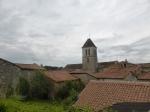 Nanteuil-en-Vallee (historisch pelgrimsstadje) nergens plek !
