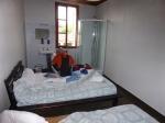 kamer in Labouheyre, geen toilet, wel douche op de kamer