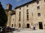 """Monasterio de Leyre: tractatie na een stevige """"Redoute""""klim van zeker 4 kilometer"""
