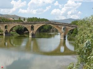 pelgrimsbrug Puente la Reina