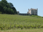 een chateaux in de Bordeaux