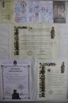 Compostela, certificado de distancia, compostela Francisci en pelgrimspaspoort