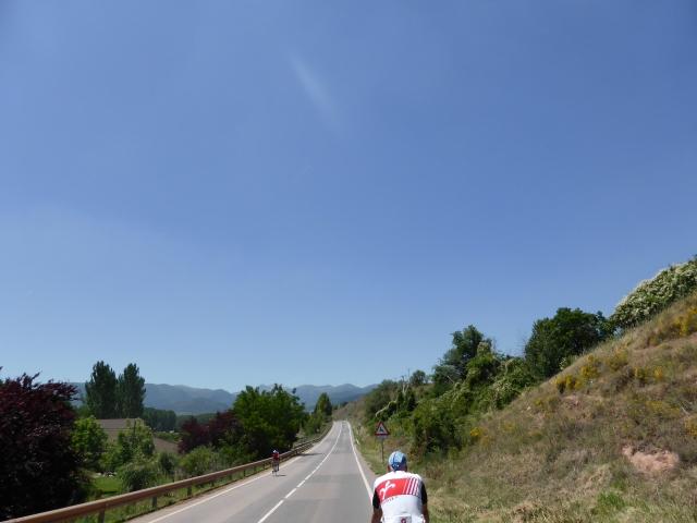 Spaanse wegen, lang rechtdoor