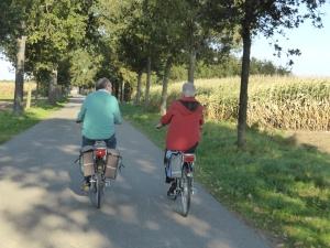de échte fietsers... souplesse is het toverwoord...!!