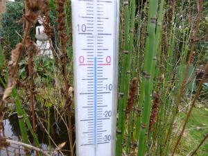 dinsdag 2 december: 2 graden.