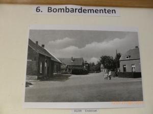 de Eindstraat in de 60er jaren