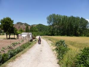 niet alle wegen in Spanje zijn met de racefiets goed te doen