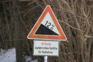 gevaarlijke bospaden
