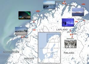 via Duitsland, Denemarken, Zweden en Noorwegen naar de Noordkaap !