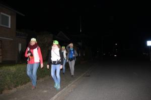 op pad !!   eenzame wandeling door Horn, op naar de drukte van Sittard !!