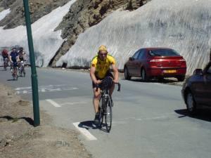 La marmotte 2004: beklimming Galibier