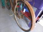Sahagun, met hamer en beitel werd deze fiets gemaakt...