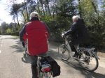 bijna 70...??? lekker tochtje op die elektrische fiets...genieten !!